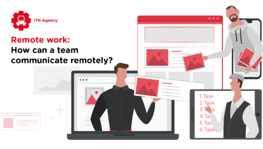 Remote work: How can a team communicate remotely?